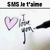 SMS Je t-aime