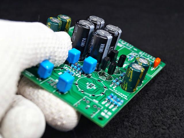 Сборка гибридного усилителя на лампе 6J1 (6Ж1П) и микросхеме LM1875T