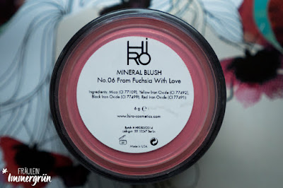 Hiro Mineral Blush From Fuchsia With Love
