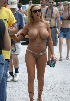 big tit nudist women