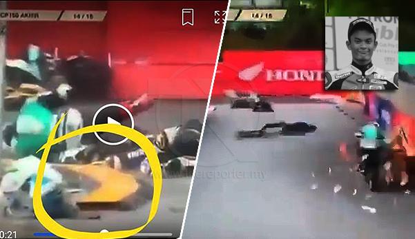 (Video) 'Ini last race aku' - Pelumba Cub Prix maut dalam kemalangan di litar