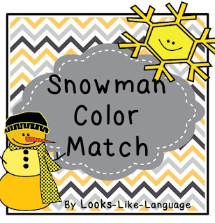 A free game and worksheets to match! Looks-Like-Language