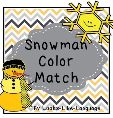 Worksheets that can be a file folder activity? FREE? Get them now! Looks-Like-Language