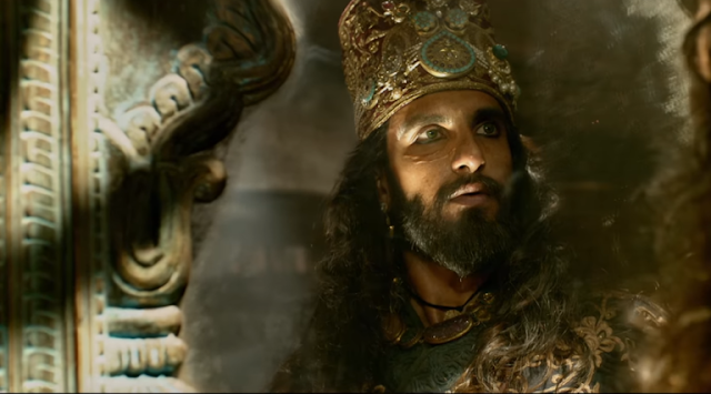 Ranveer Singh As Sultan Alauddin Khilji Padmavati Movie Cast HD Pictures