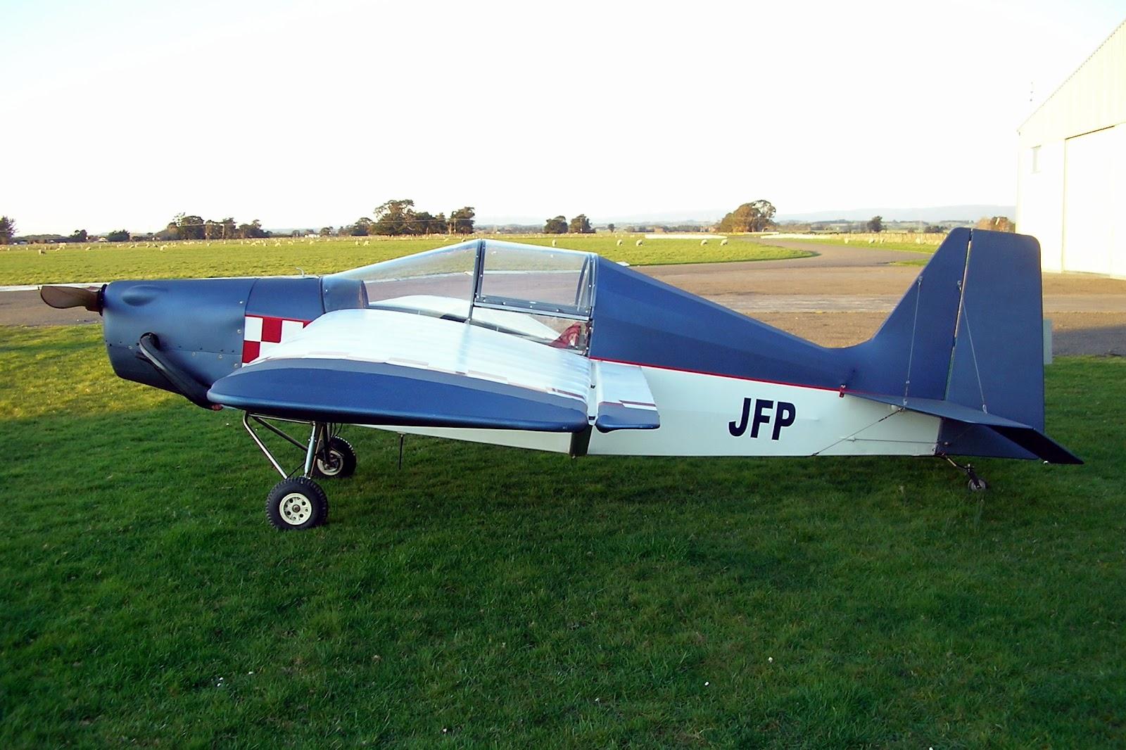 NZ Civil Aircraft: Homegrown Single Seat Homebuilt Aircraft of New