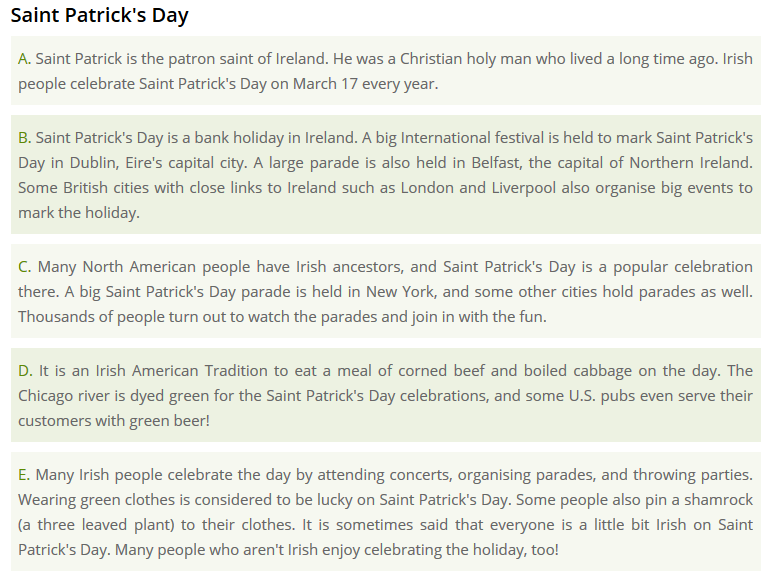 http://www.esolcourses.com/content/topics/festivals/st-patricks-day/st-patricks-day-graded-reader.html