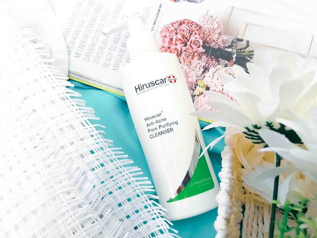 Hiruscar Anti Acne Untuk Masalah Jerawat Saya..