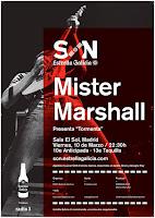 Concierto de Mister Marshall en Sala el Sol