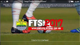 FTS 2017 Mod PERSIB Special Viking Apk + Data