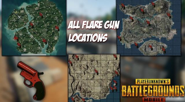 Flare Gun Place in Erangel