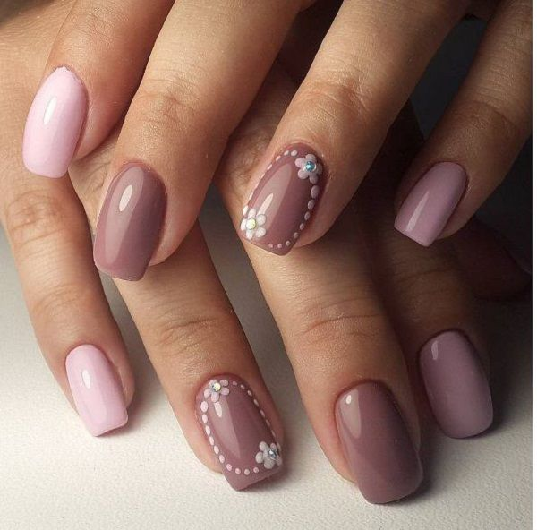 Winter Nail Art Designs: Simple Nail Designs For Cold Weather