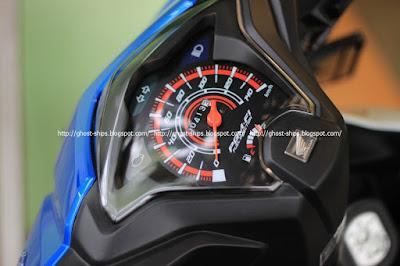 Speedometer nyaris tanpa perubahan yang berarti