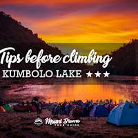 4 important tips before climbing Ranu Kumbolo