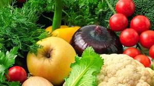 camilan sehat buah dan sayur