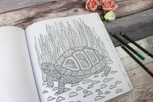 Animals: A Mindful Colouring Book Review