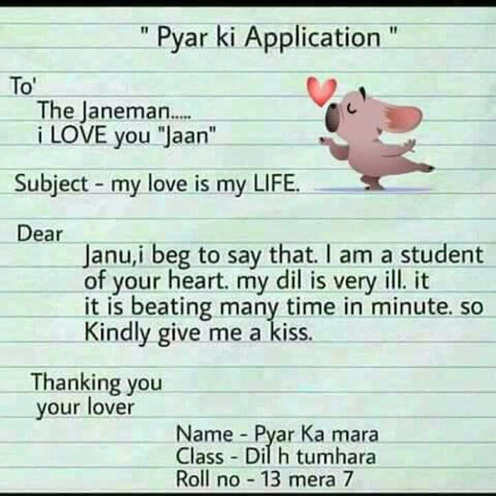 Love application for lover
