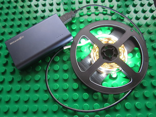Video & Photo Gallery: Unboxing 5V 2M LED Strip Tape Lamp with USB Cable