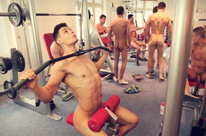 Gym gay nude