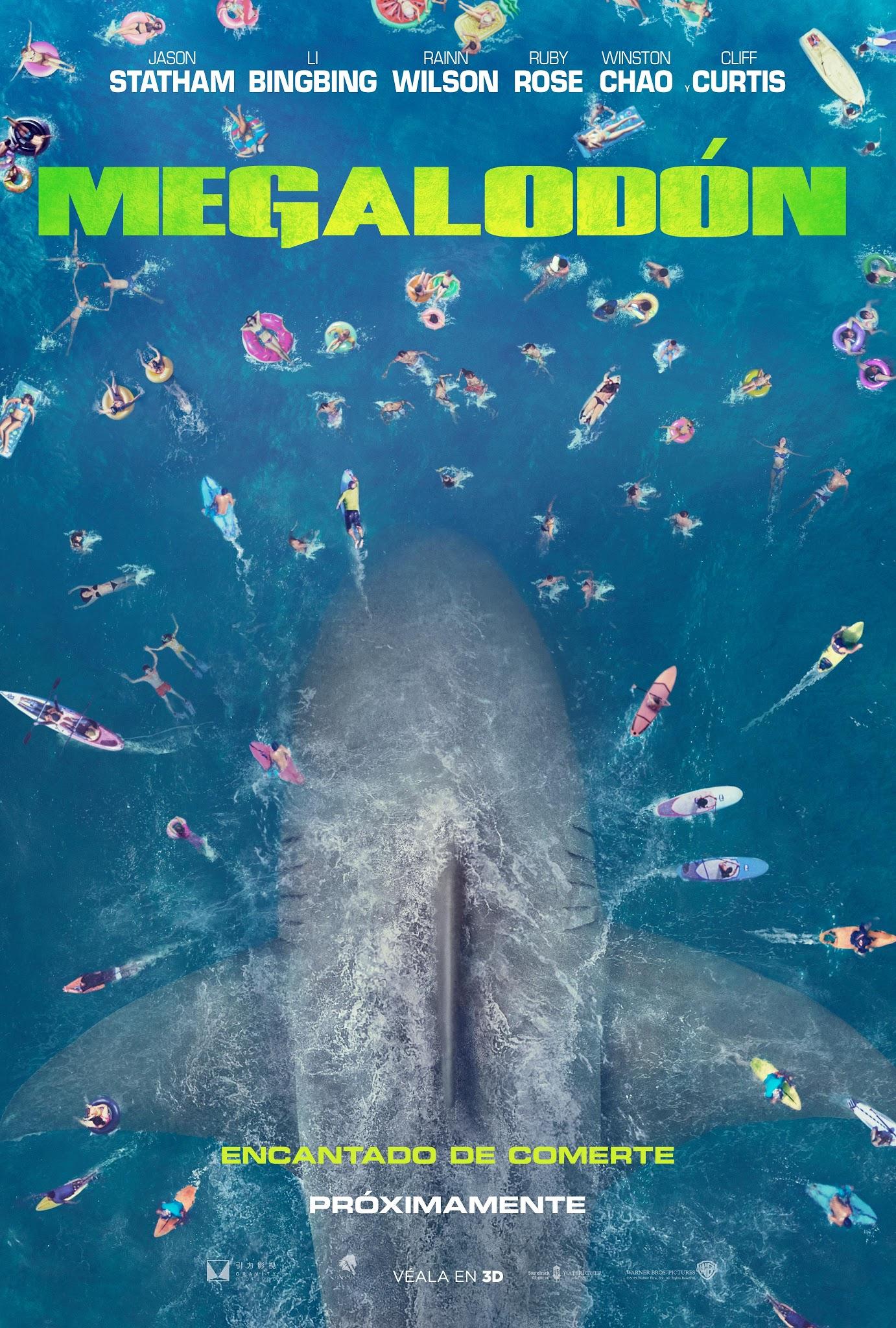 Teaser Poster de MEGALODÓN ~ JPosters
