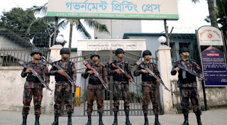 Estimated 600,000 security personnel deployed ahead of voting in Bangladesh