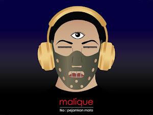 Thumbnail image for Kulit Album Didakwa Lambang Mata Dajjal, Malique Beri Penjelasan