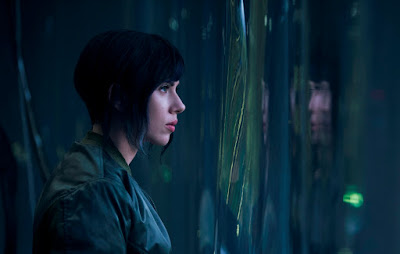 Scarlet Johansson en Ghost in the Shell