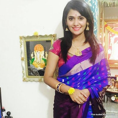 Serial Actress Kavya Gowda Latest HD Photos