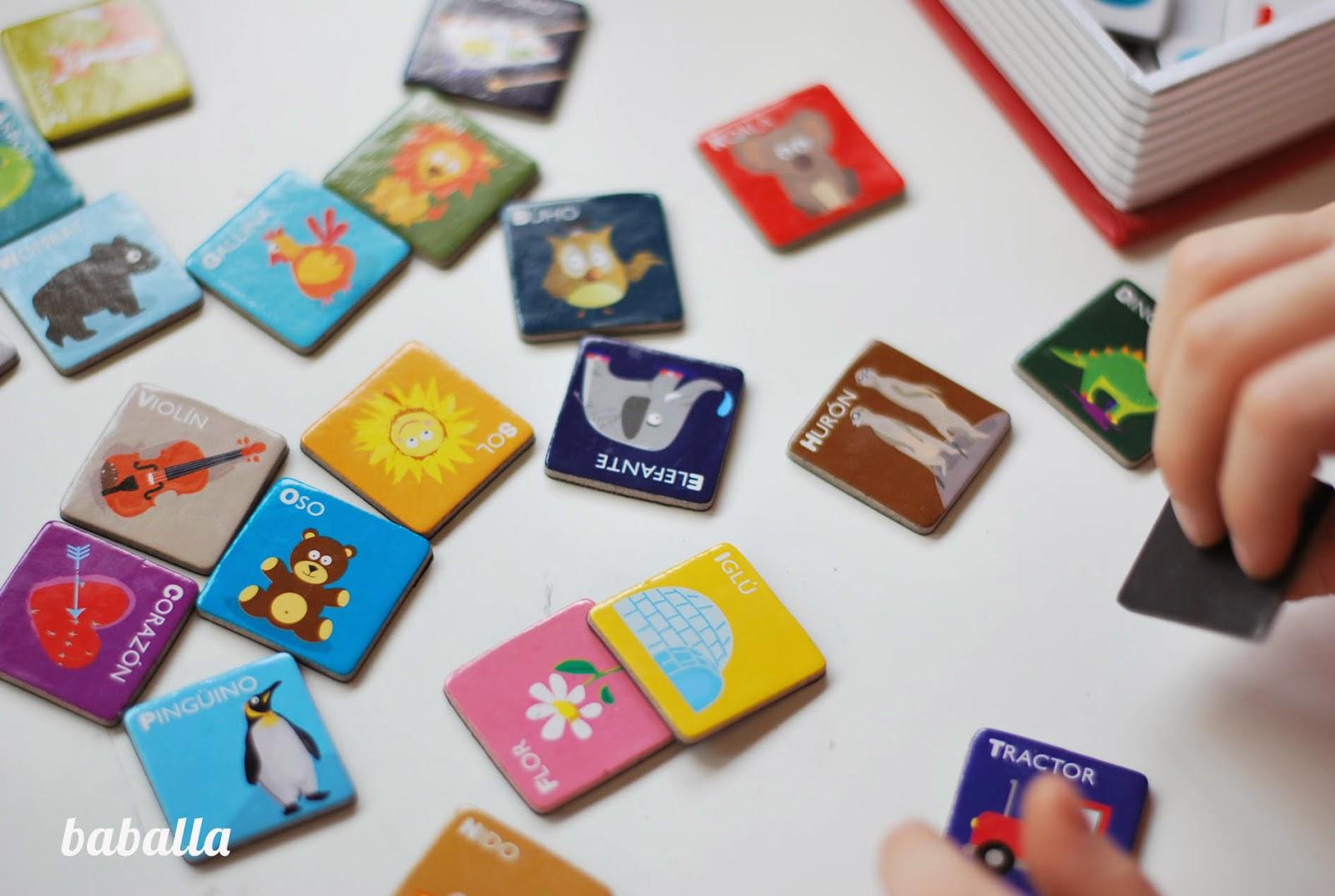 juguete magnetic book alfabeto
