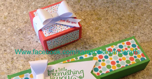 My first stampin up makes!