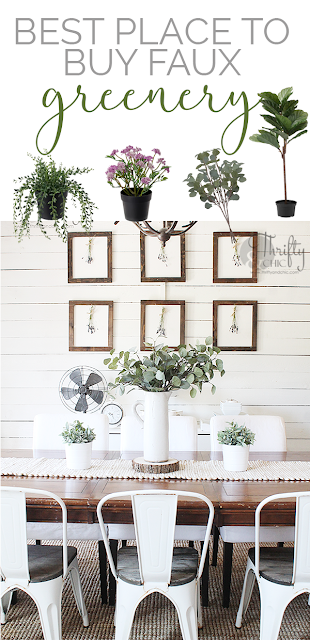 This is the best place to buy faux plants for your home! Using faux greenery in your home. Home decor and decorating ideas.