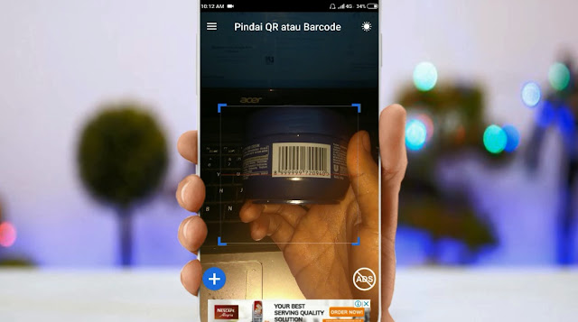 Cara Cek Harga Barang Dengan Barcode di Hp Android