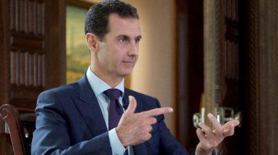 Assad señala cuál es la condición para que Trump sea un aliado de Siria