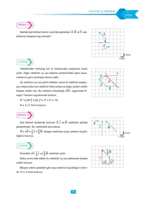 11 Sınıf Fizik Ders Kitabı Cevapları Tutku Yayınları Ata Gündem