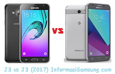 Perbandingan Galaxy J3 (2016) vs J3 (2017)