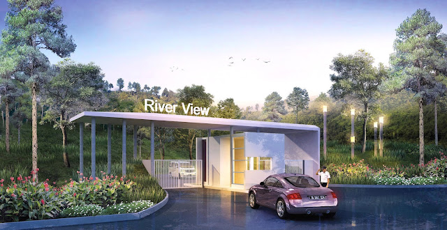 Front-Gate-Cluster-River-View-Residence-Sentul-City