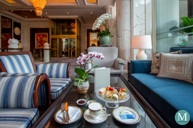 Afternoon Tea at The Valley Wing, Shangri-La Hotel Singapore