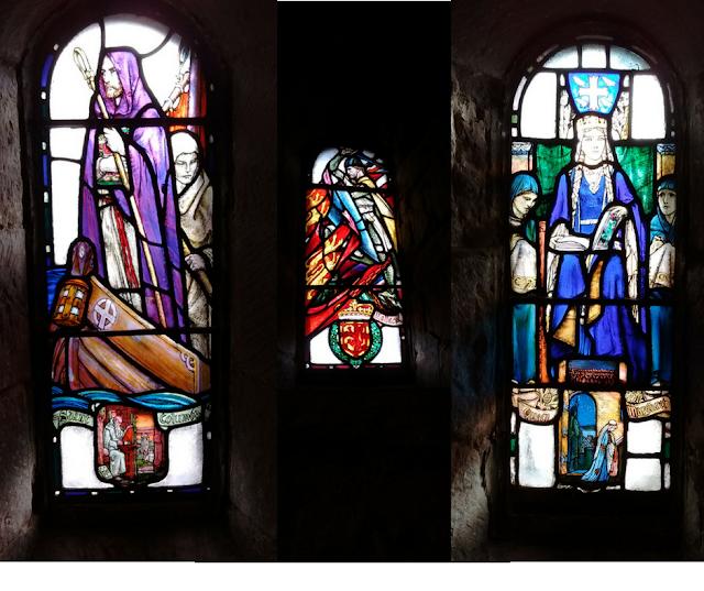 Edinburgh Castle, Stained Glass, St Margret's Chapel