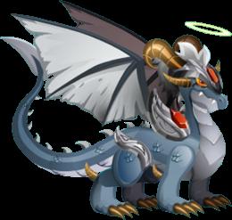 imagen del dragon angel caido