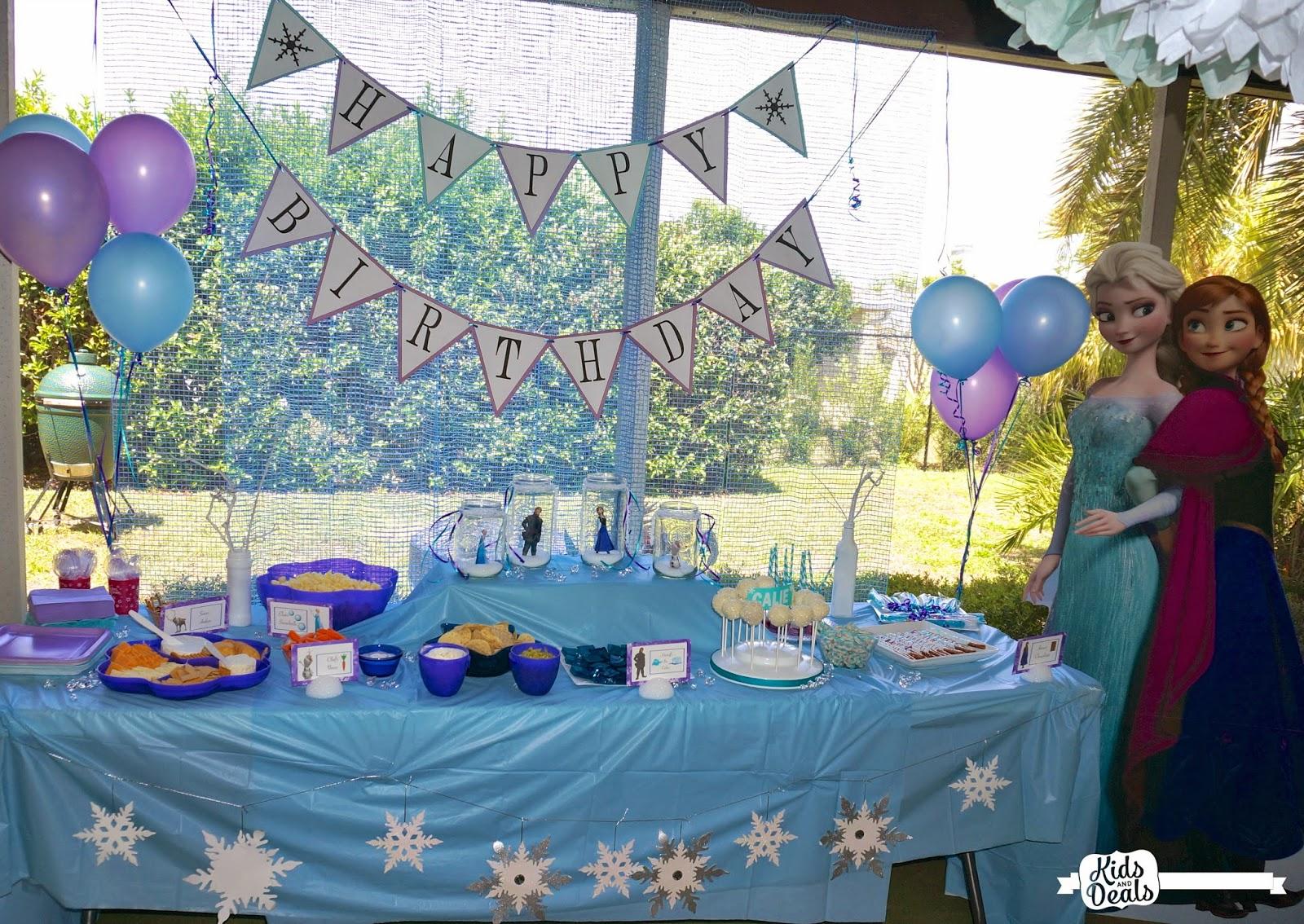 Kids and Deals: Disney Frozen Birthday Party