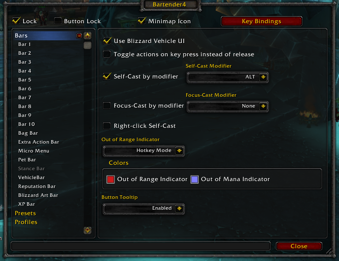 Bartender4 - WoW Addons (4.3.4) | TheWoWcrafters  Bartender4 - Wo...