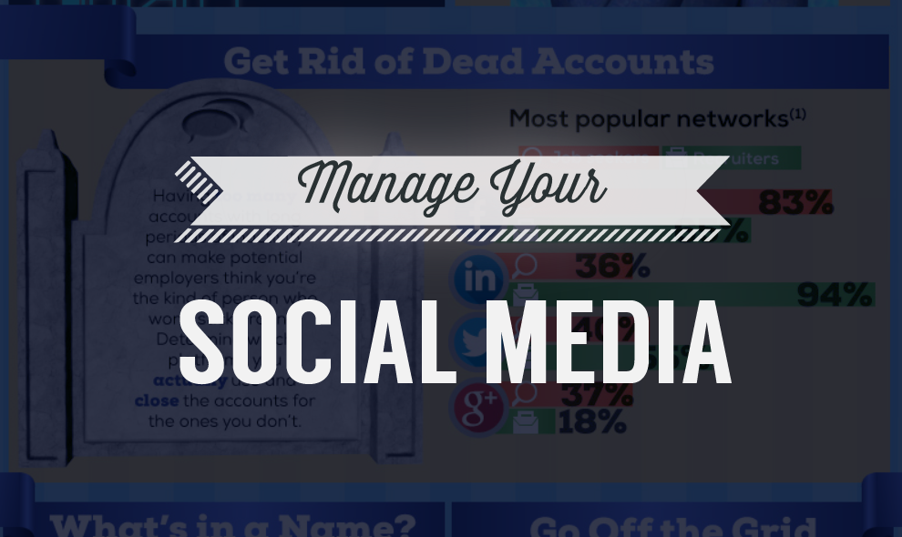 10 Tips For Getting Your Social Media Life Under Control - infographic