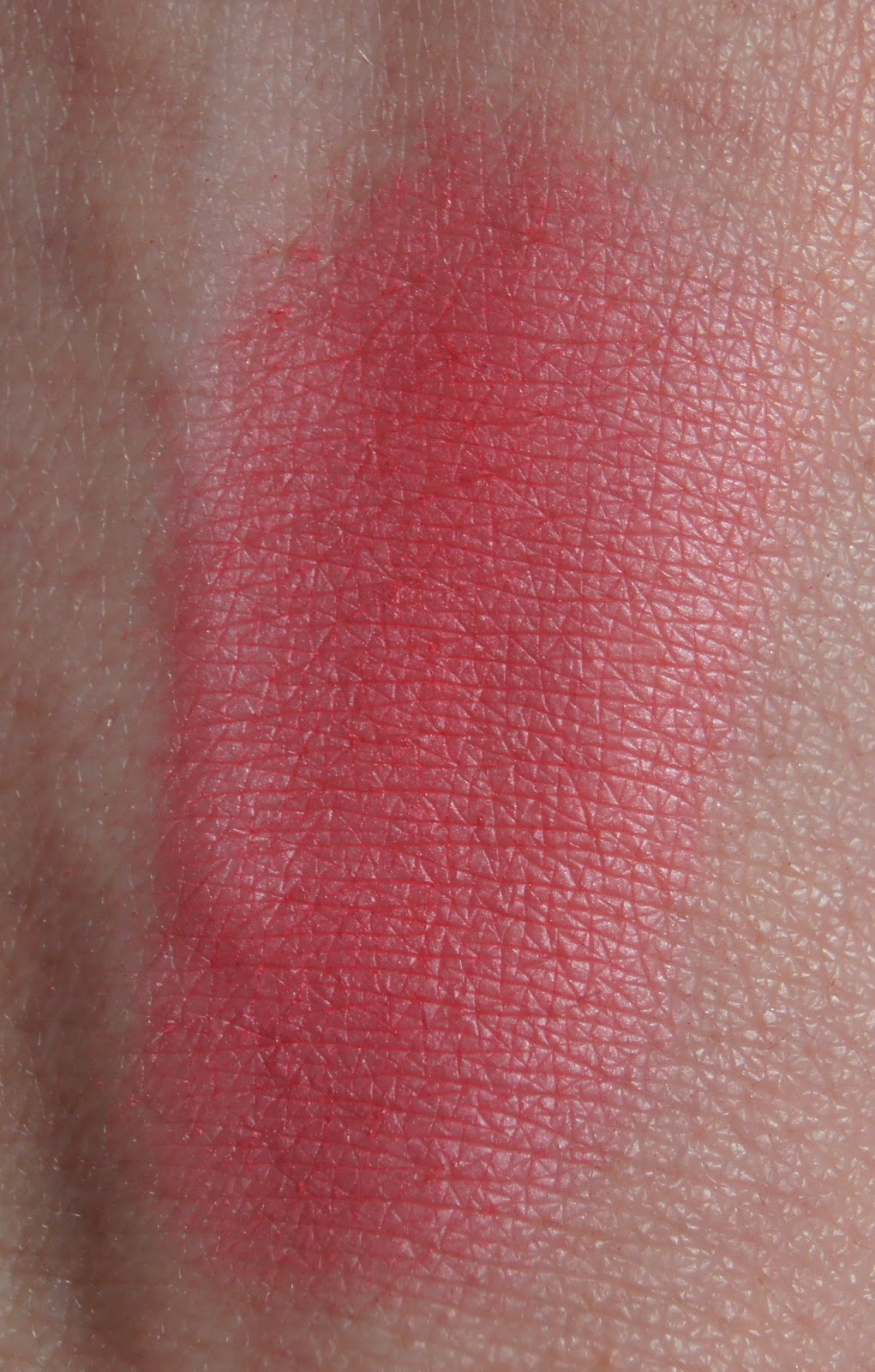 sleek flamingo blush swatch