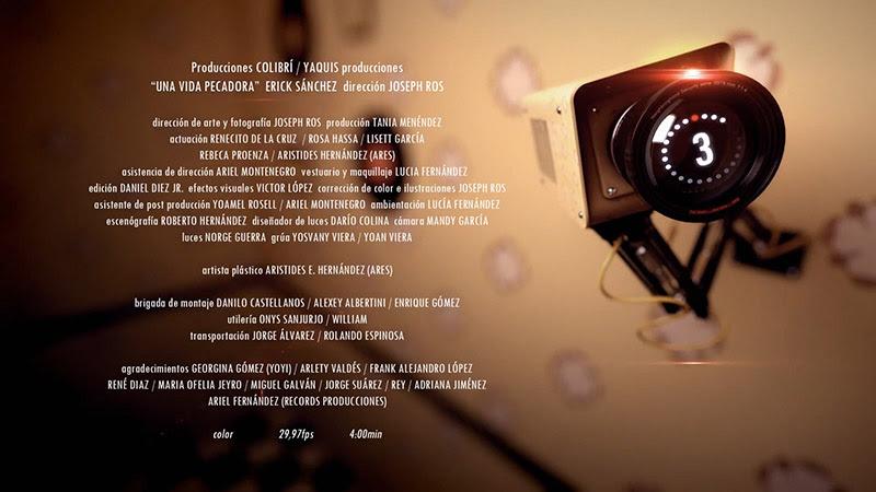 Erick Sánchez - ¨Una vida pecadora¨ - Videoclip - Dirección: Joseph Ros. Portal Del Vídeo Clip Cubano - 10