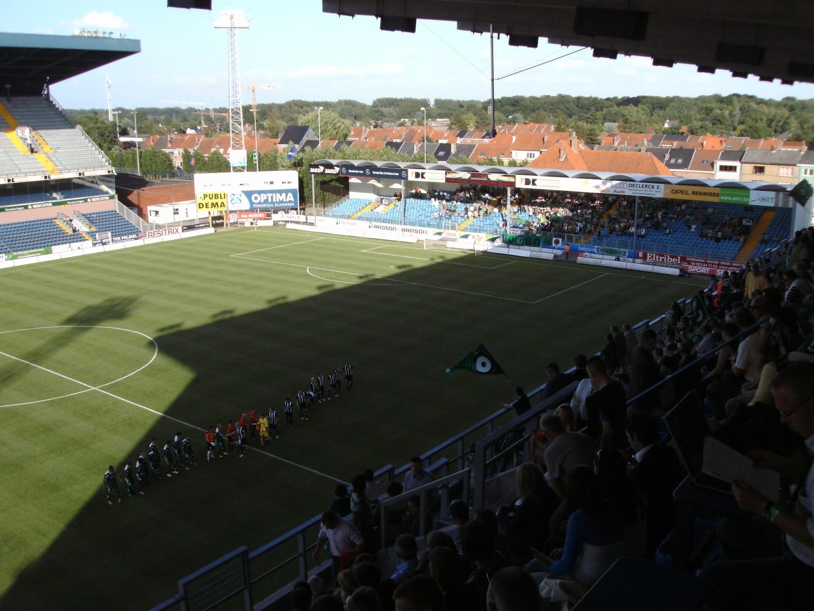 Extreme Football Tourism Belgium Kaa Gent 1920 2013
