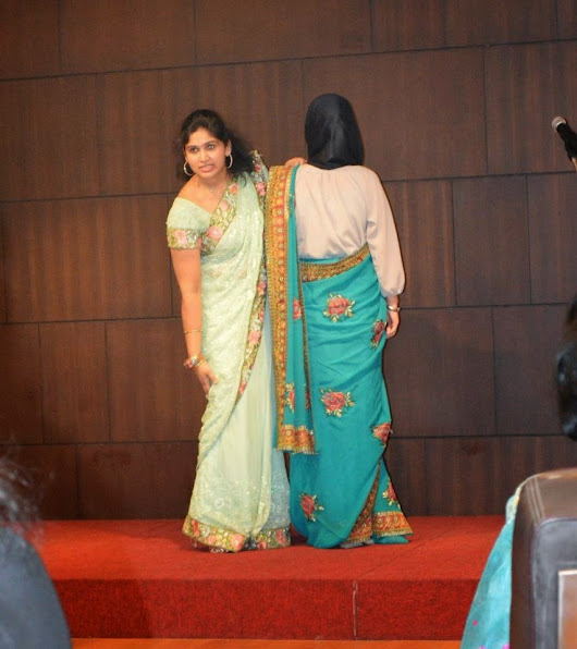Saree Draping workshop conducted for Singapore High Commission.