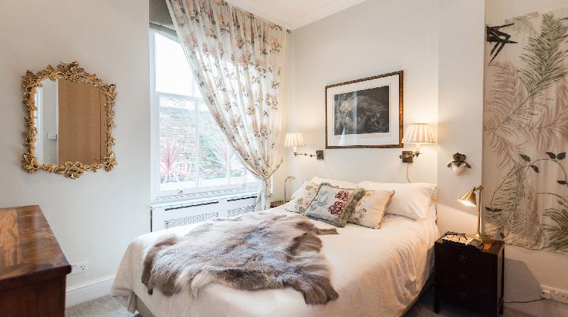 Dormire nelle case più belle di Londra: Victorian Garden camera da letto