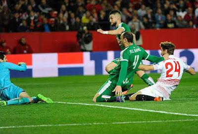 Crónica Sevilla FC 1 Eibar 0