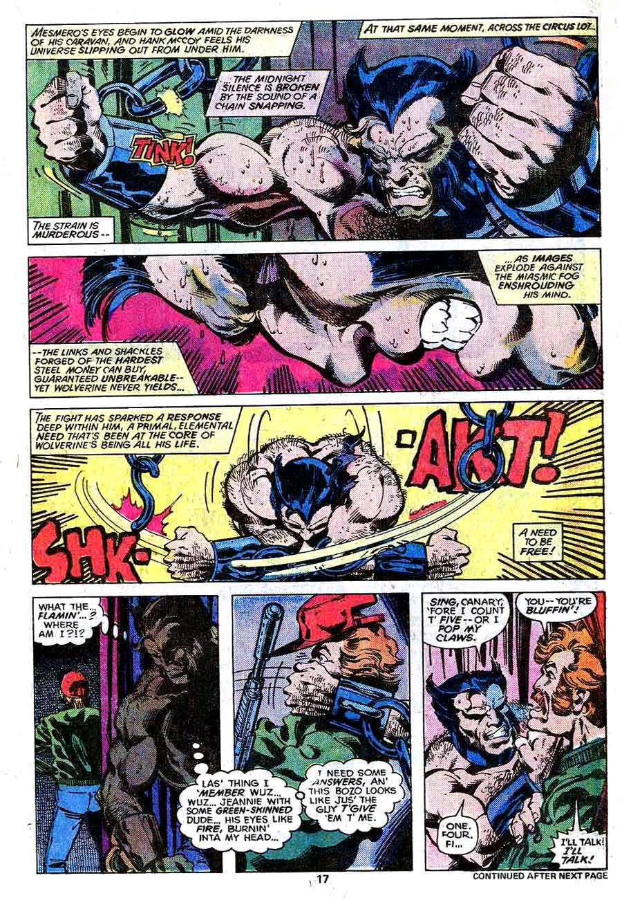 X-men v1 #111 marvel comic book page art by John Byrne