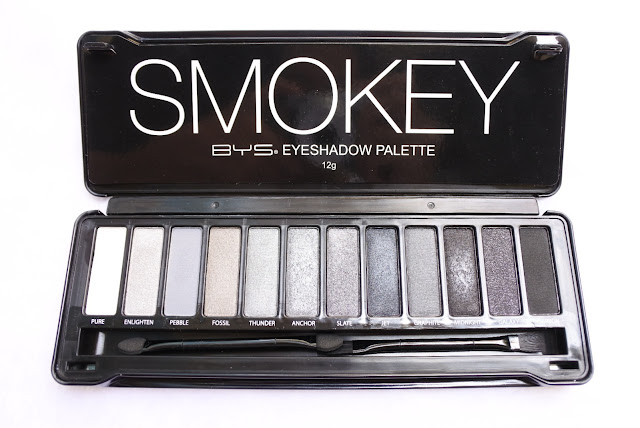 Review BYS Eyeshadow Palette
