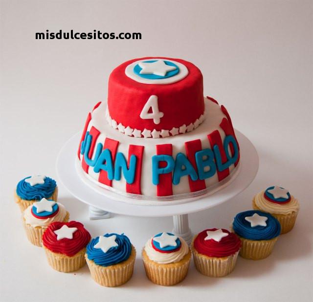 Tortas Avengers en masa elástica. Venta de tortas en todo Lima